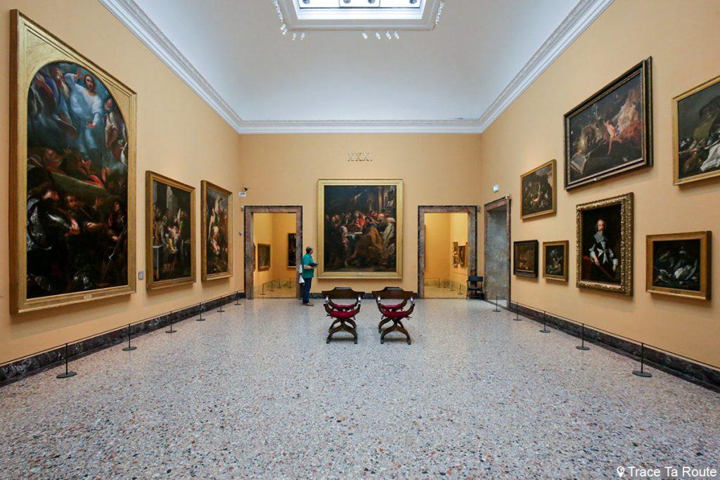 """""""La Cène"""" (1631-1632) Pieter Paul RUBENS - Salle exposition Musée Pinacothèque de Brera de Milan - Peintures XVIIe siècle"""