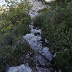 Sentier de randonnée Montagne Sainte-Victoire par le Pas du Berger