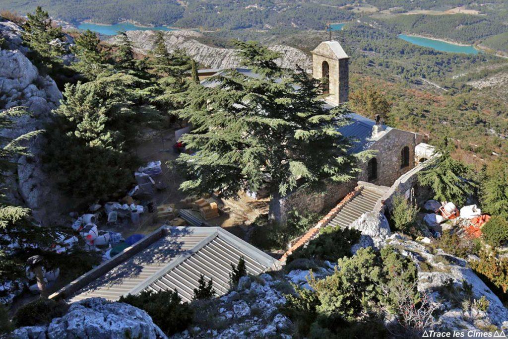 Prieuré Sainte-Victoire (travaux de restauration 2016)