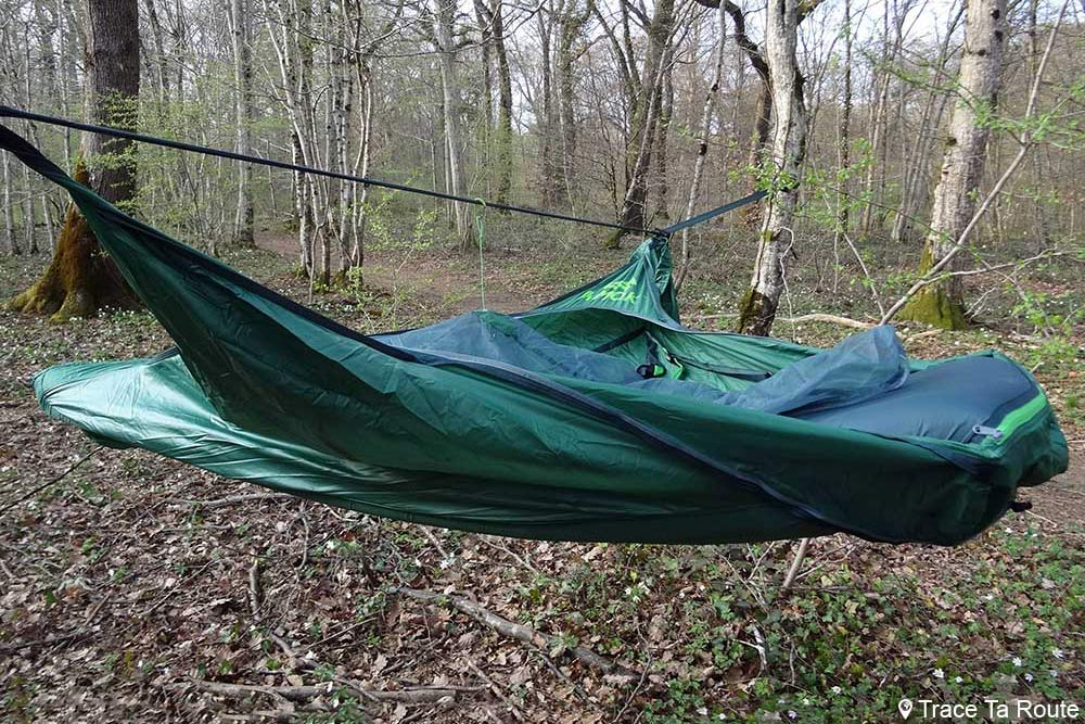 Test du hamac Draumr 3.0 Amok Review suspendu