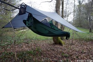 Test montage bâche Tarp 3.0 hamac Draumr 3.0 Amok Review
