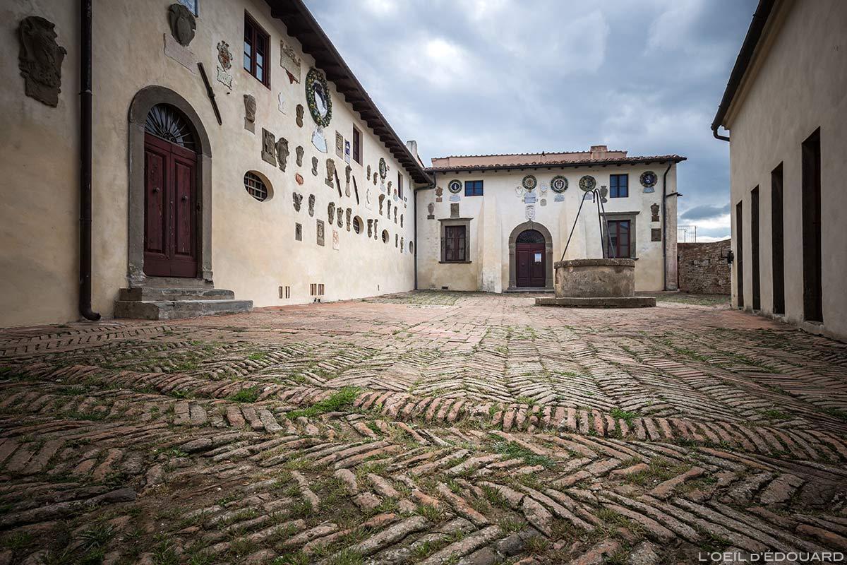 Château de Lari, Castello dei Vicari (Valdera, Toscane, Italie)