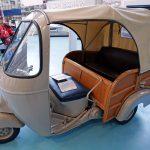 Tricycle Ape 150 Calessino - Museo Piaggio Pontedera (Pisa, Valdera, Toscana, Italie) Musée Piaggio à Pontedera