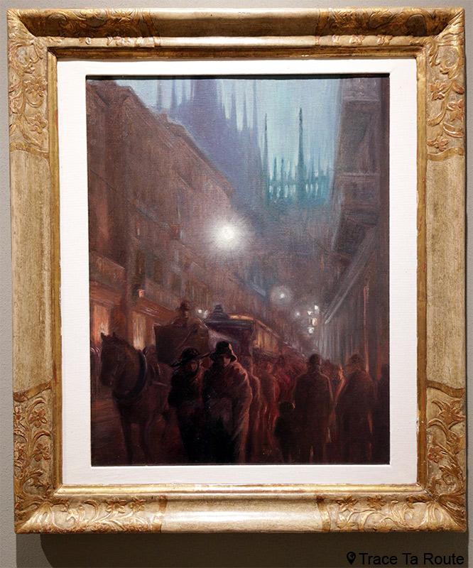 Corso Vittorio Emanuele (1909-1911) Carlo ERBA - Visite exposition Tutti in moto ! (2017) Musée Palazzo Pretorio à Pontedera (Valdera, Toscane, Italie)