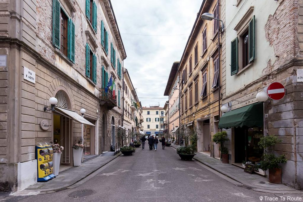 Rue Ranieri Gotti, Pontedera (Valdera, Toscane, Italie)