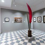 Ala Rossa (1951-1952) Nino FRANCHINA - Visite exposition Tutti in moto ! (2017) Musée Palazzo Pretorio à Pontedera (Valdera, Toscane, Italie)