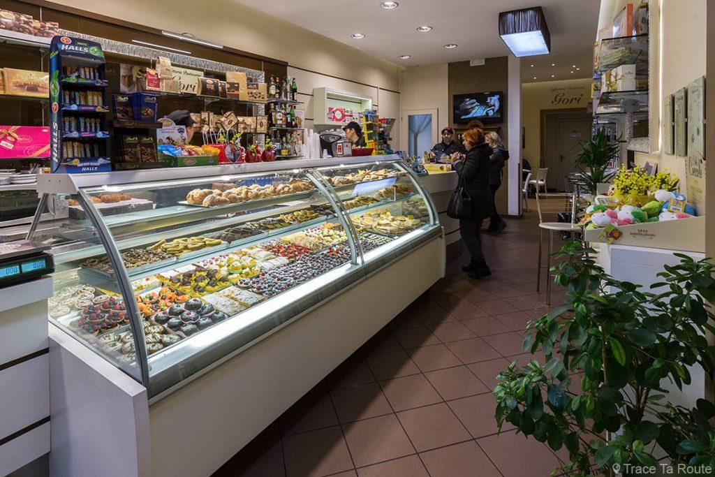 Caffetteria Pasticceria Gori, Pontedera, via Roma (Valdera, Toscane, Italie)
