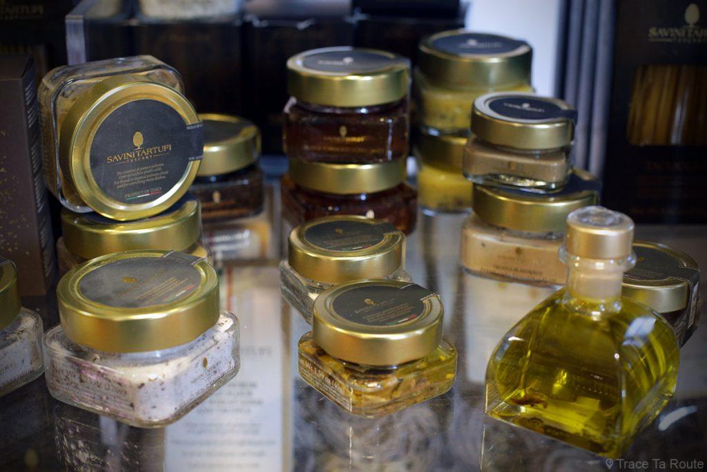 Gastronomie Toscane, Italie - Produits à la Truffe - Savini Tartuffi Forcoli, Palaia (Valdera)
