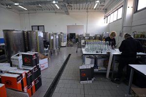 Atelier de la distillerie Grapperia Morelli, Palaia (Valdera, Toscane) Gastronomie Italie