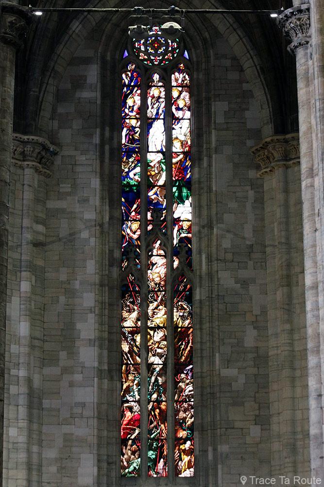 Duomo di Milano - Vitraux Cathédrale du Duomo de Milan