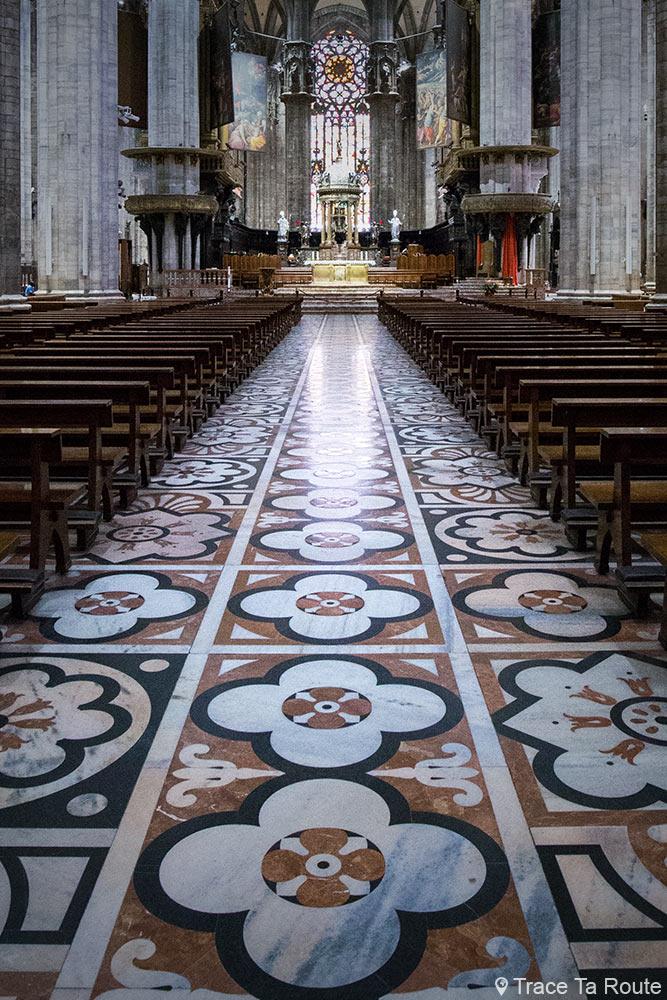 Cathédrale du Duomo de Milan - Nef Duomo di Milano
