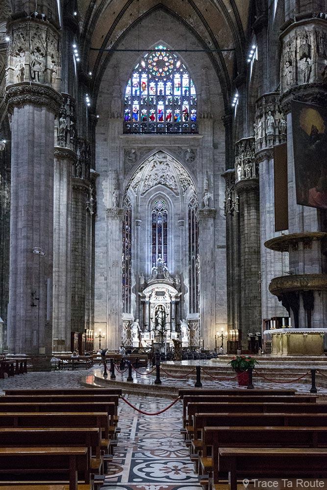 Cathédrale du Duomo de Milan - Transept Duomo di Milano