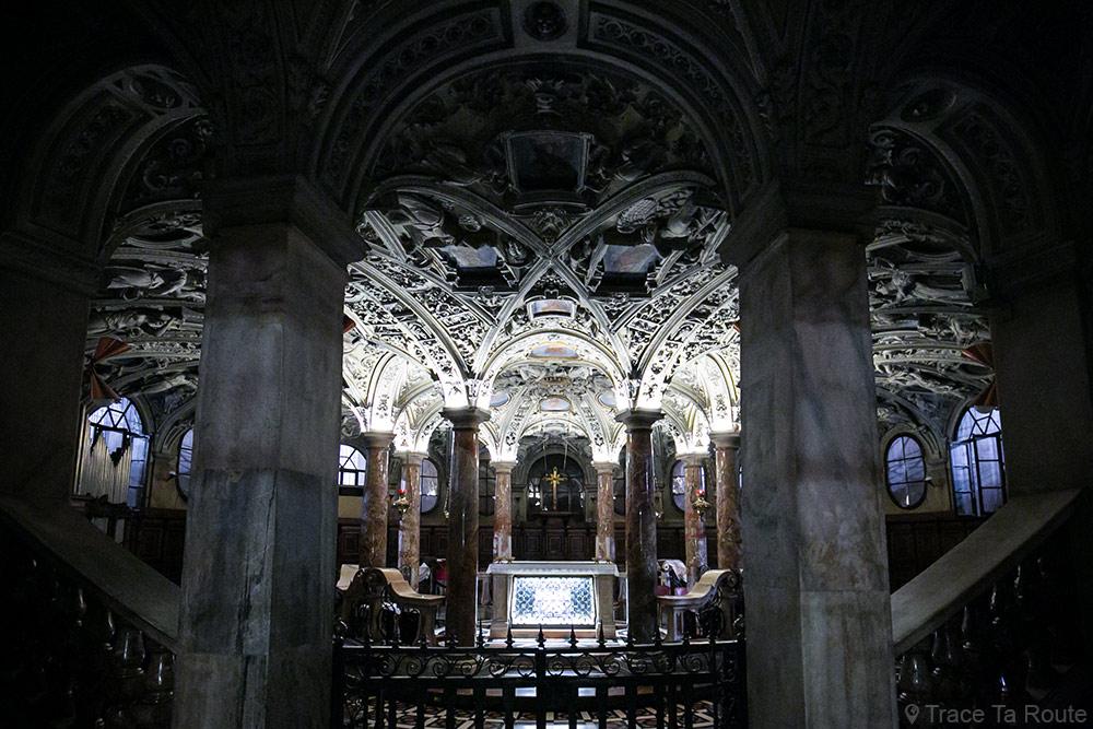 Cathédrale du Duomo de Milan - Crypte - Duomo di Milano