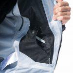 Test veste Gore-Tex Eider Commodore Jacket review (noir) poche intérieure