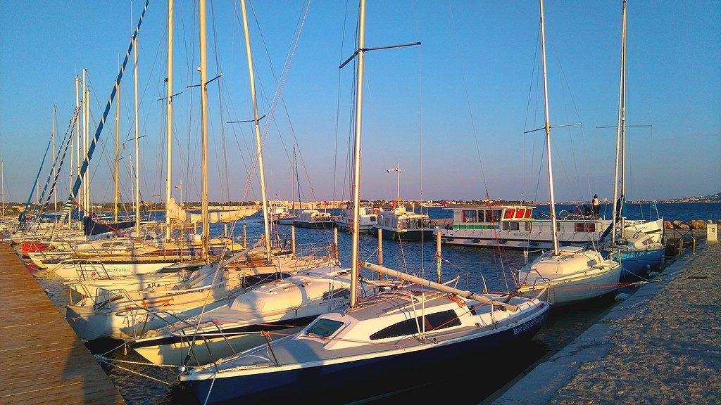 Port de bouzigues, Voyage en péniche avec Les Canalous