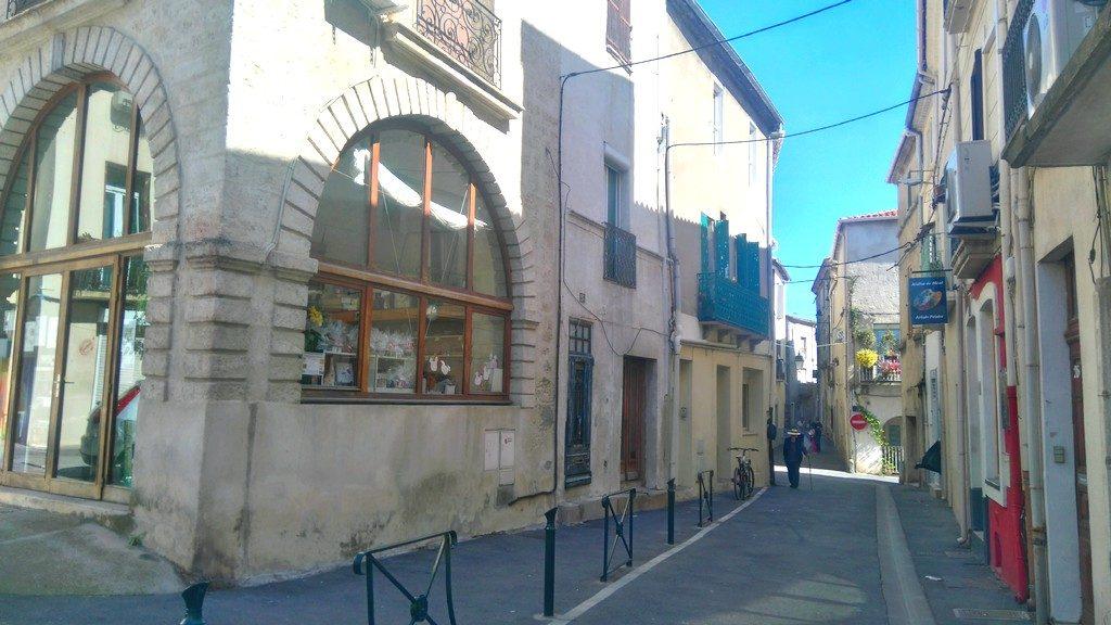 Carte de postale de Mèze, petite cité charmante