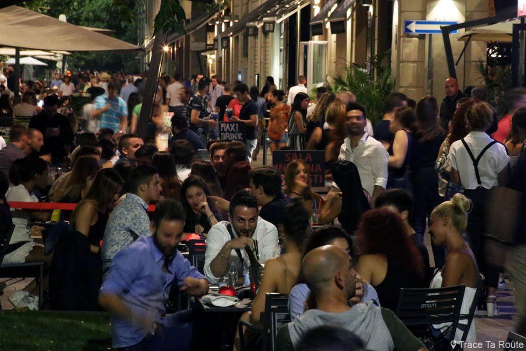 Corso Sempione Milano - Bars samedi soir à Milan