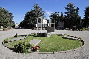 Monument aux victimes des camps d'extermination nazis (BBPR) - Cimetière Monumental de Milan