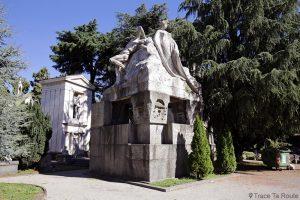 Mausolées - Cimetière Monumental de Milan