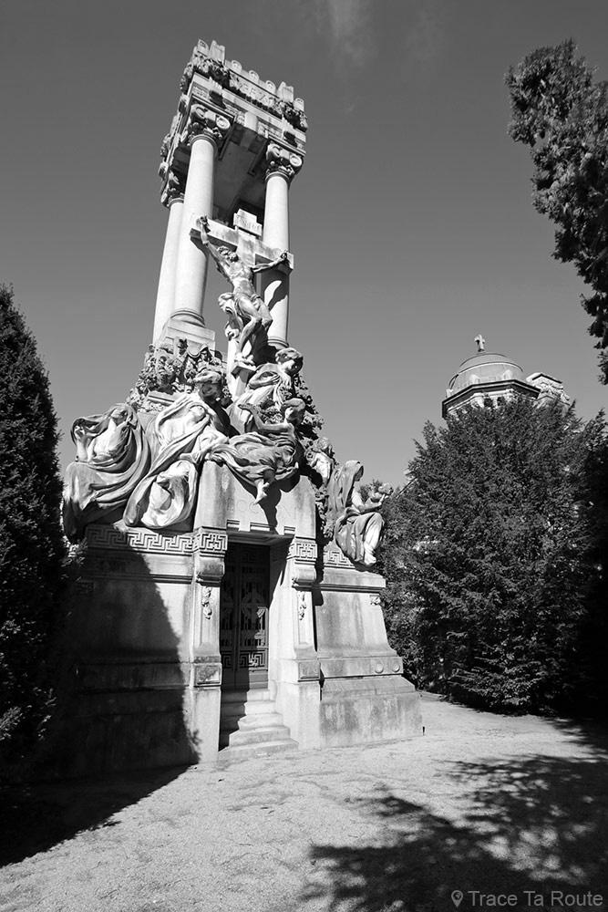 Famille Ferdinando Bocconi (1901-1914) Giuseppe Boni et Orazio Grossoni - Cimetière Monumental de Milan