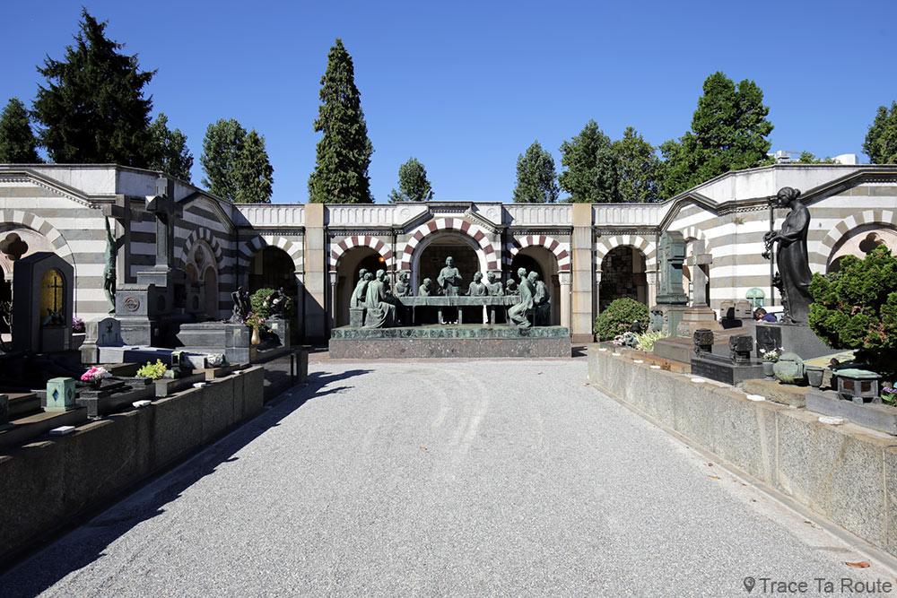 La Cène (1935) Giannino Castiglioni, Famille Davide Campari - Cimetière Monumental de Milan
