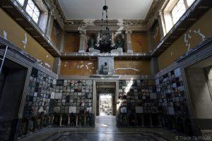 Temple crématoire - Crematorium Cimetière Monumental de Milan