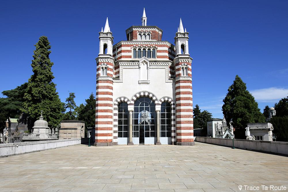 Ossuaire Central - Cimetière Monumental de Milan