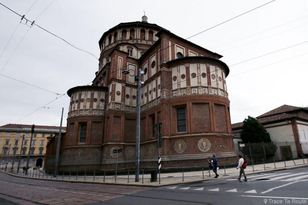 Eglise Santa Maria della Grazie de Milan