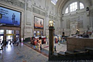 Intérieur Hall Gare Centrale de Milan
