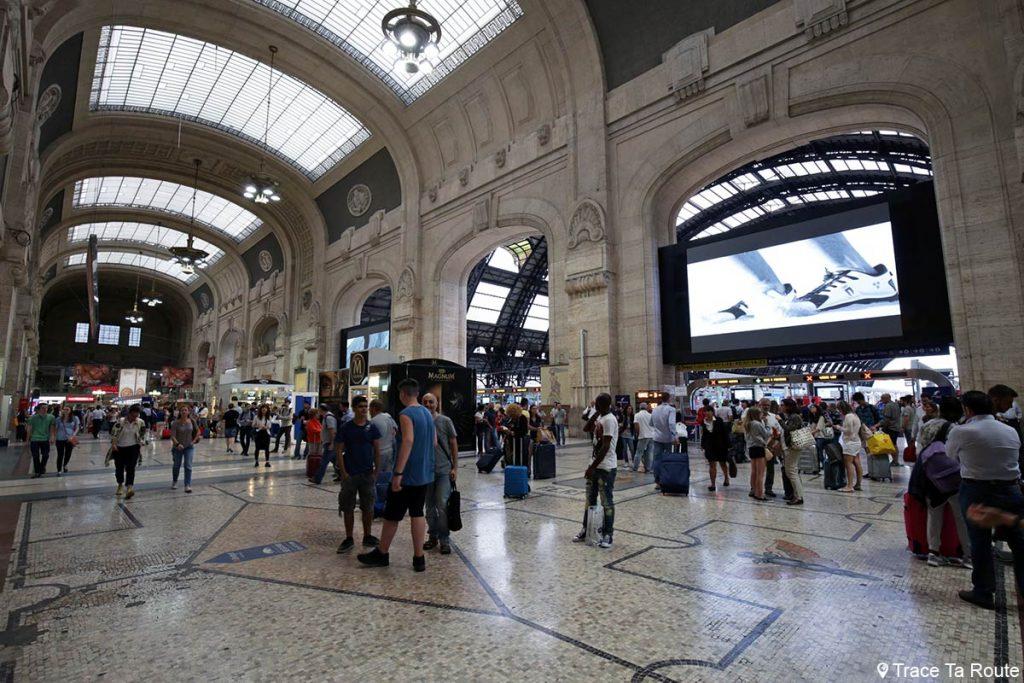 Intérieur Gare Centrale de Milan
