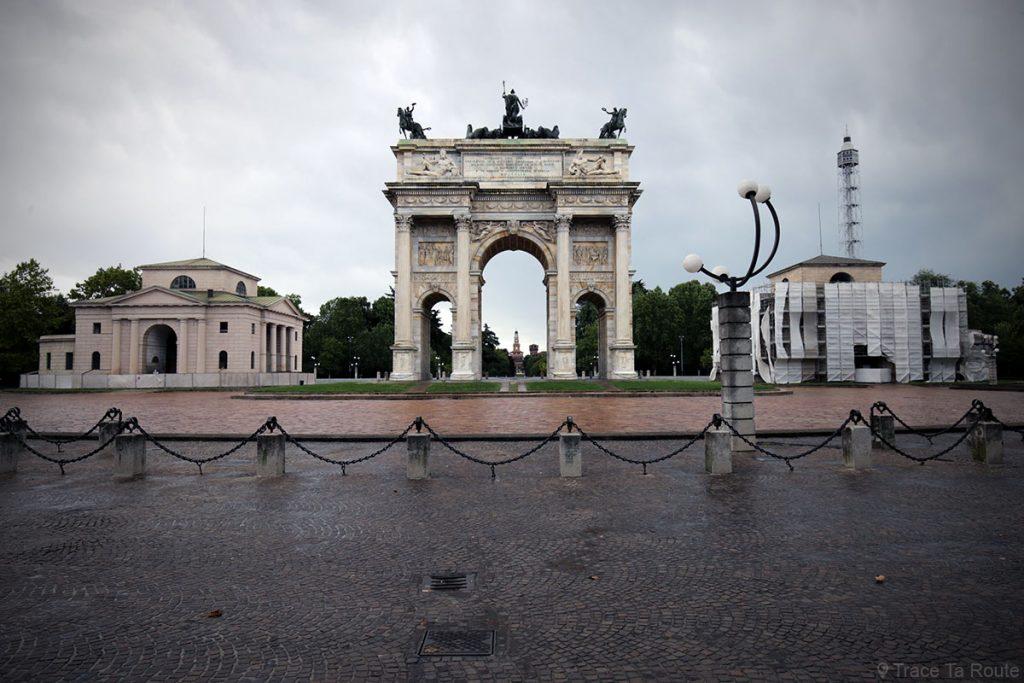 Arc de Triomphe Arco della Pace, Parco Sempione à Milan