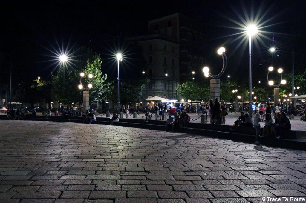 Samedi soir à Milan - Arco della Pace di Milano, Corso Sempione