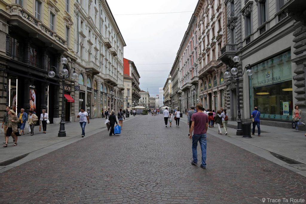 Rue de Milan : Via Dante, Milano