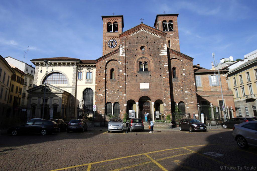 Eglise Chiesa di San Sepolcro de Milan, Milano