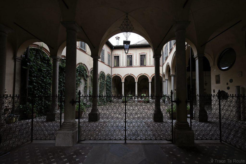 Cour intérieure La Vigne de Leonardo, Corso Magenta, Milano