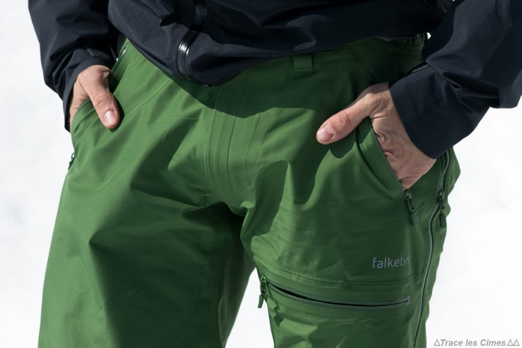 Test Pantalon Gore-Tex FALKETIND NORRØNA : poches mains