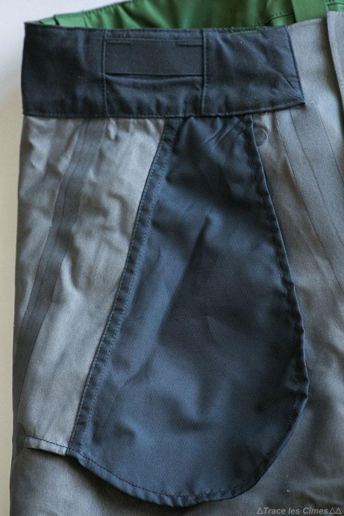 Test Pantalon Gore-Tex FALKETIND NORRØNA : poches mains intérieur