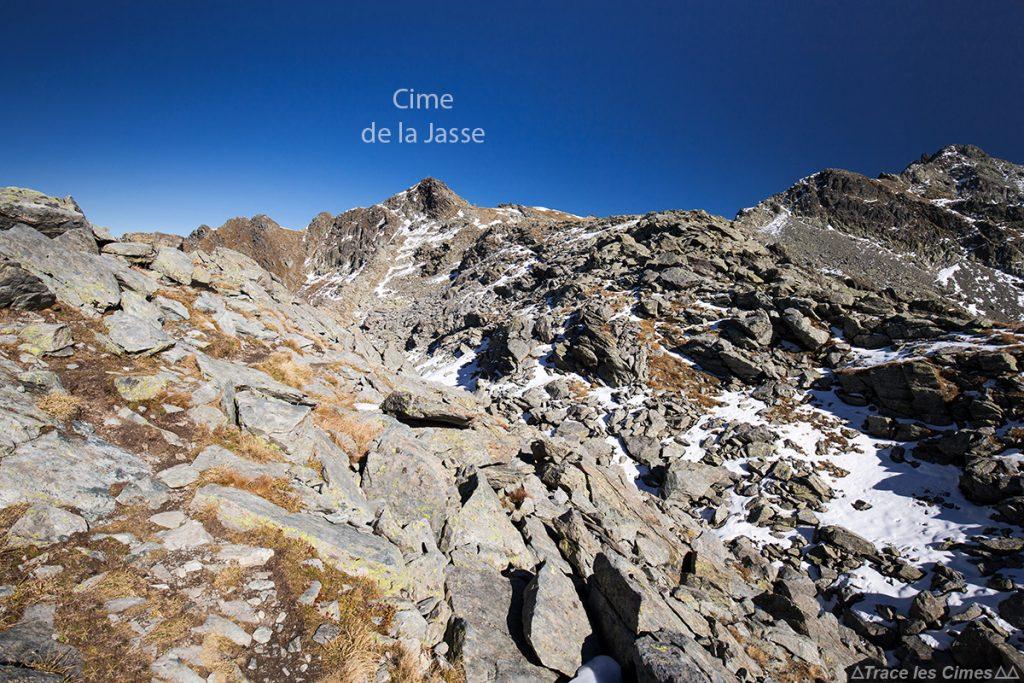 Randonnée La Cime de la Jasse, Belledonne