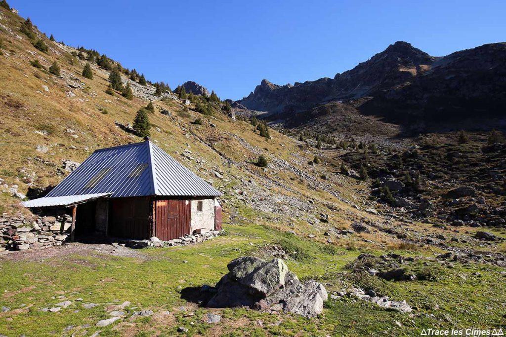 Cabane Habert d'Aiguebelle, sous les Lacs du Vénétier Belledonne