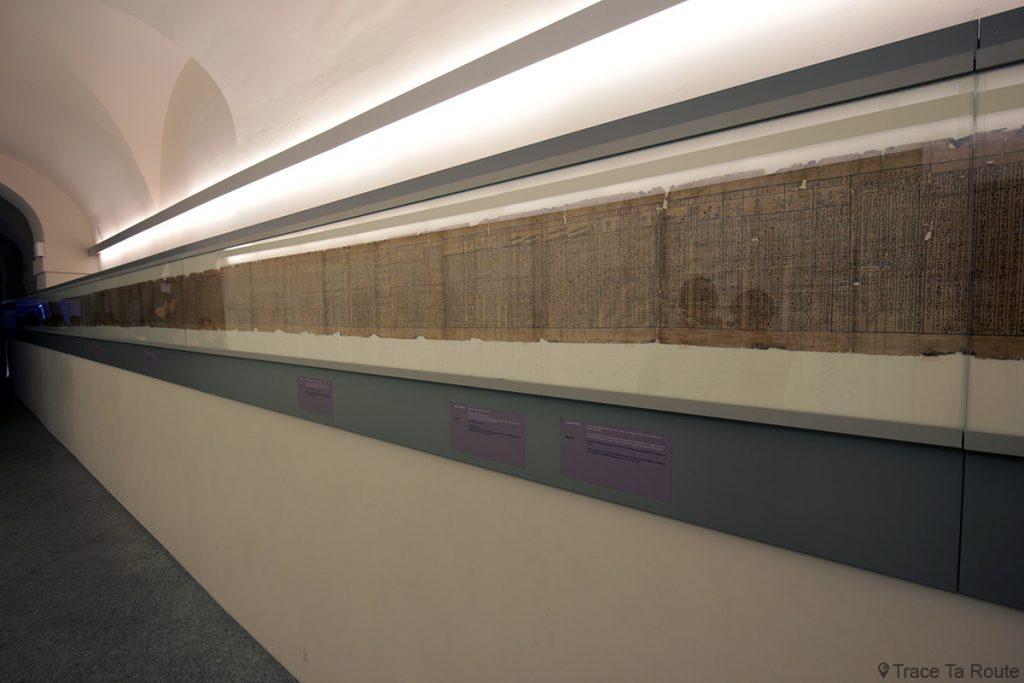 Papyrus - Visite du Musée Égyptien de Turin - Museo Egizio di Torino
