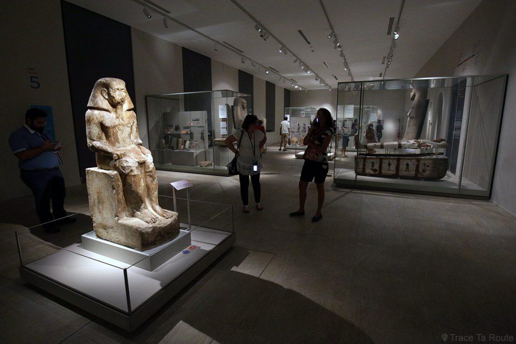Salle exposition Visite du Musée Égyptien de Turin - Museo Egizio di Torino