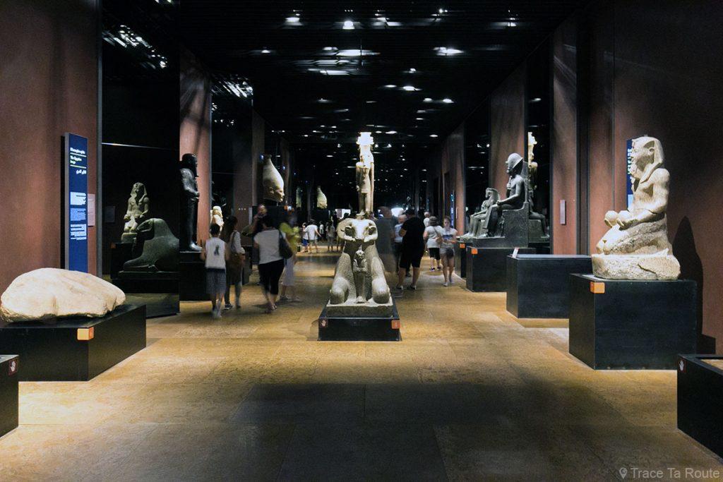Salle des Rois - Visite du Musée Égyptien de Turin - Museo Egizio di Torino