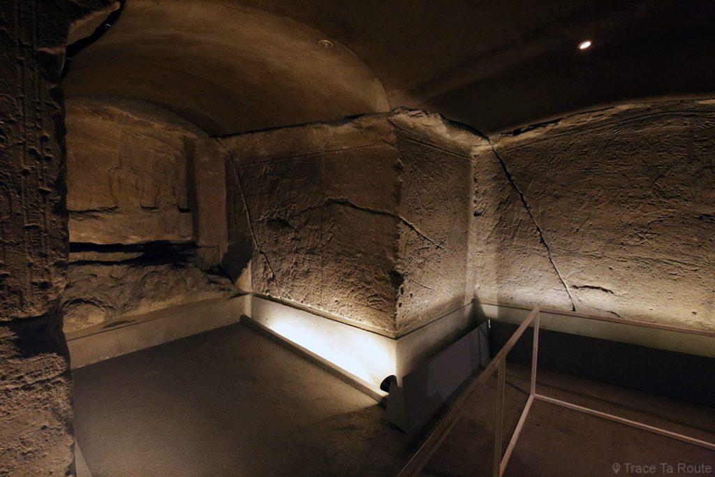Salle Visite du Musée Égyptien de Turin - Museo Egizio di Torino