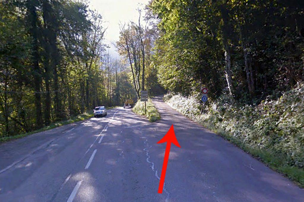 Route départementale Saint-Laurent-du-Pont D520B - Route forestière de la Charmette - Massif de la Chartreuse