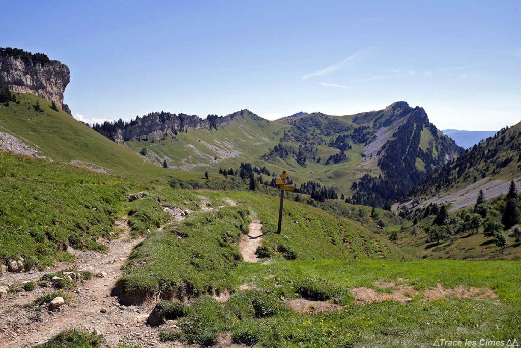 Itinéraire randonnée à la Grande Sure par le Col d'Hurtières - Massif de la Chartreuse