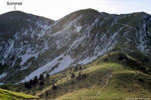 Itinéraire randonnée à la Grande Sure - Massif de la Chartreuse