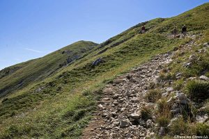 Sentier de randonnée à la Grande Sure - Massif de la Chartreuse