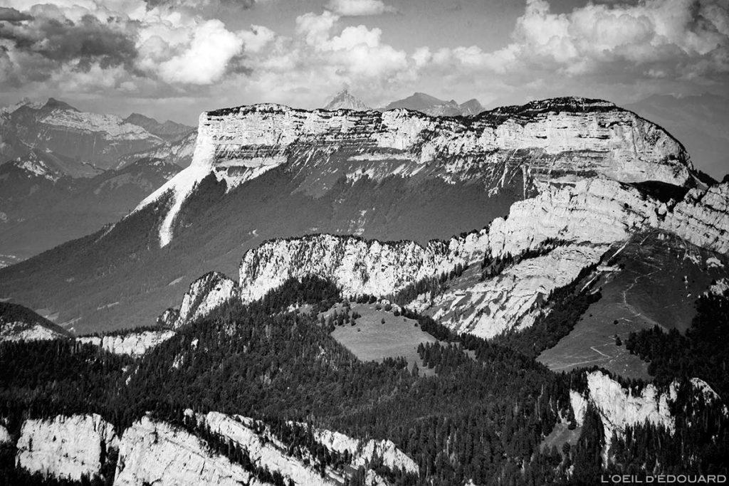 La face Est du Mont Granier vue depuis le sommet de la Grande Sure - Massif de la Chartreuse © L'Oeil d'Édouard
