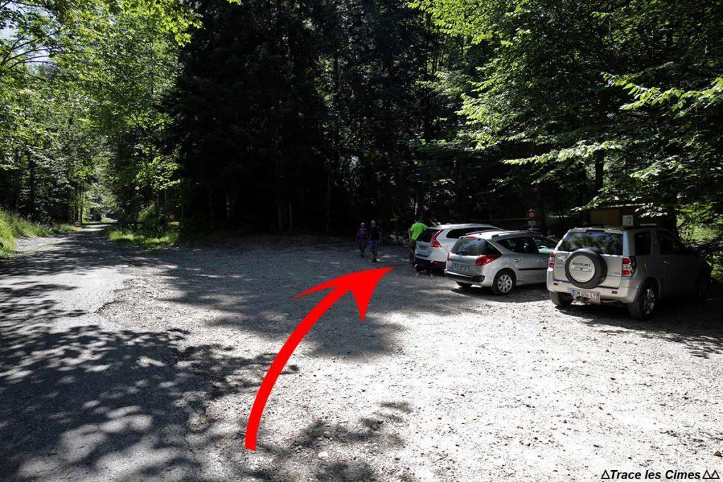 Parking de la Chartreuse du Curière - Massif de la Chartreuse