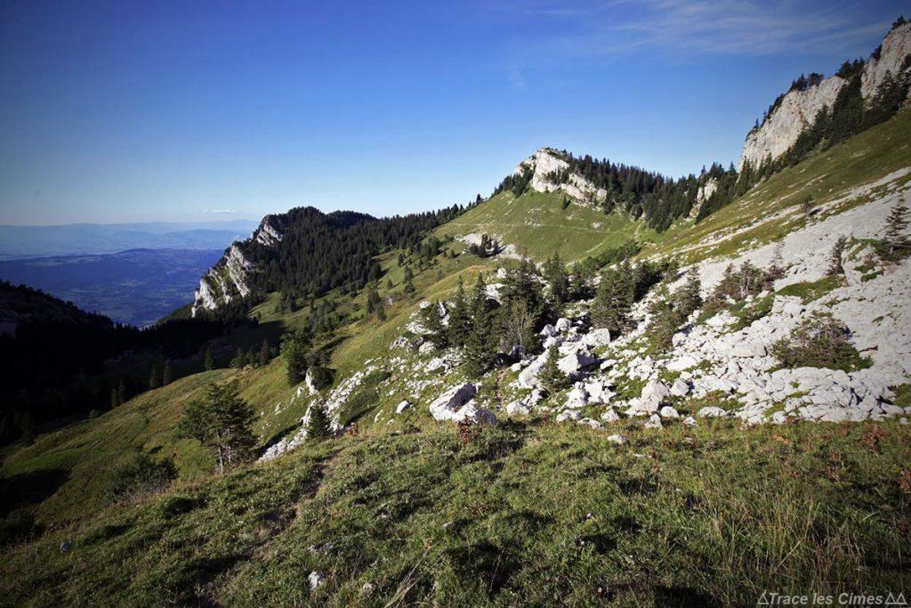 En direction du Col des Charmilles - Massif de la Chartreuse